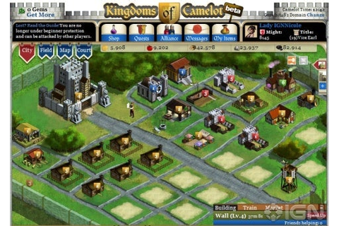 Facebook Games: Kingdoms of Camelot - IGN