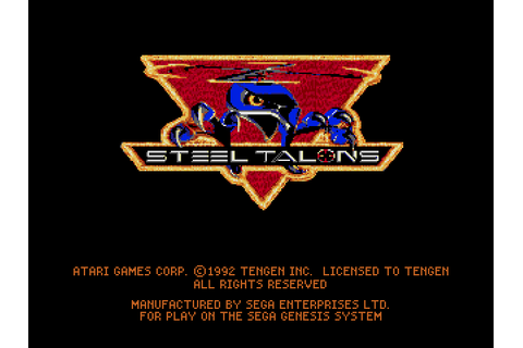Steel Talons Screenshots | GameFabrique