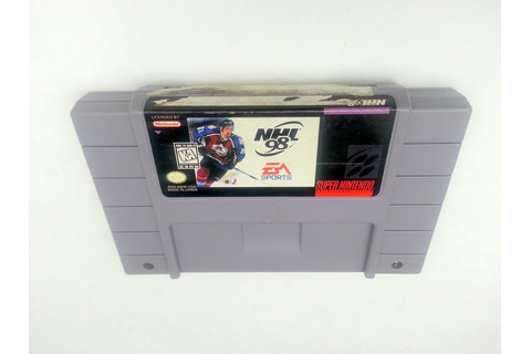 NHL 98 game for Super Nintendo SNES - Loose - TheGameGuy.ca