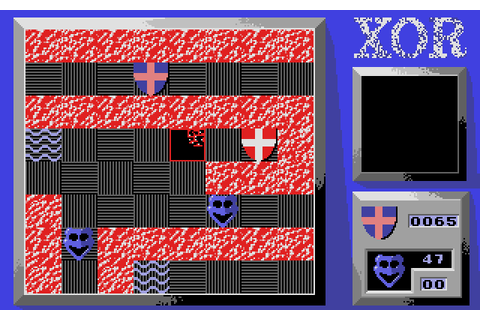 Xor (1987) by Astral Software Atari ST game