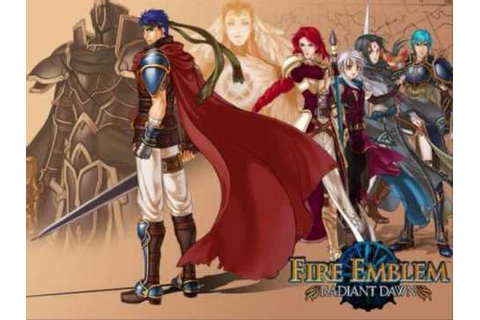 Fire Emblem Radiant Dawn OST: 52 Goddess of Dawn - YouTube