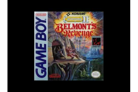 Castlevania II: Belmont's Revenge - Rock Castle ( Game Boy ...
