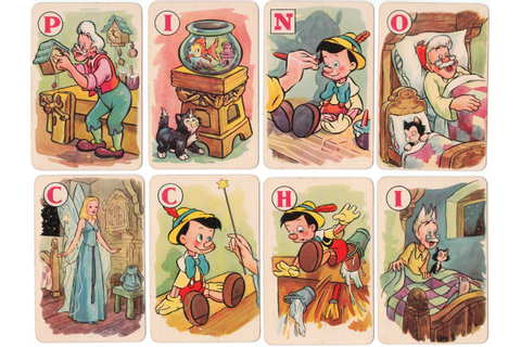 Pinocchio - The World of Playing Cards