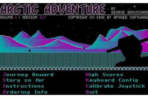 Download Arctic adventure action for DOS (1991 ...