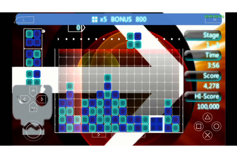 Lumines II APK + ISO PSP Download For Free