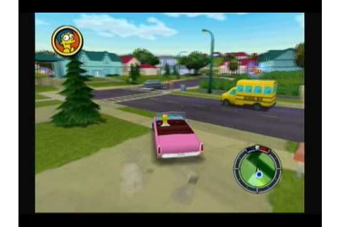 Let's Play The Simpsons: Hit and Run - #1. The Simpsons Go ...
