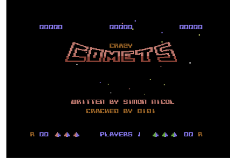 Download Crazy Comets (Commodore 64) - My Abandonware