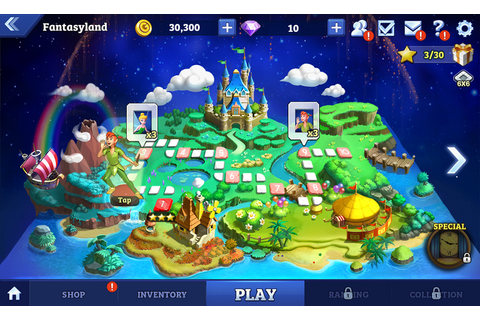 New Android Game Disney Magical Dice The Enchanted Board Game