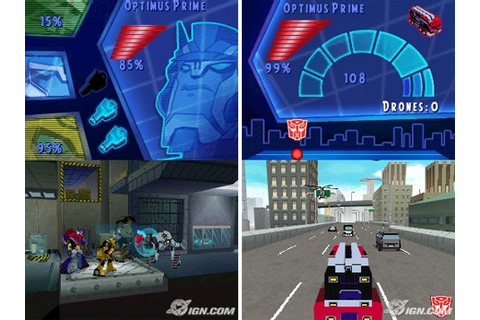 TRANSFORMERS ANIMATED THE GAME NINTENDO DS GAME + WARRANTY ...