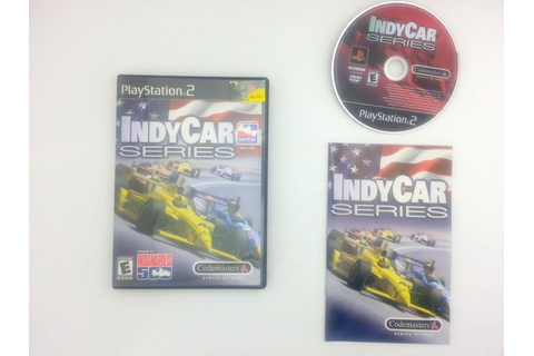 IndyCar Series game for Sony Playstation 2 PS2 -Complete ...