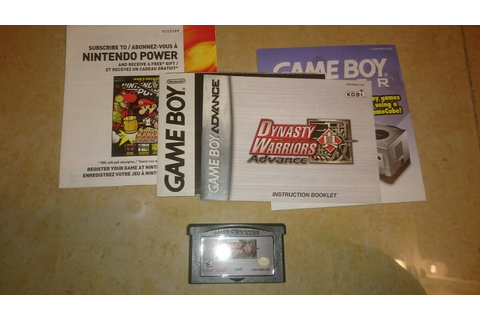 Dynasty Warriors Advance Game Boy Advance - $ 199.00 en ...
