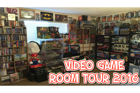 NINTENDO VIDEO GAME ROOM TOUR 2016 !!!!!! [HD] - YouTube