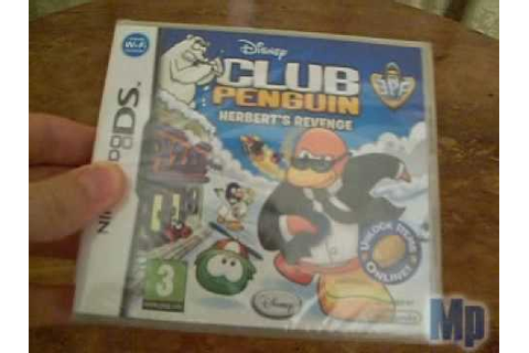 "Club Penguin - Game Review - ""Herbert's Revenge"" (DS Game ..."