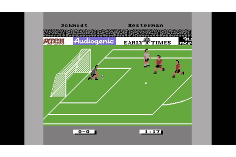Emlyn Hughes International Soccer (C64) [1988] - UEFA EURO ...