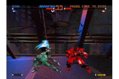 Rise of the robots 2 / Rise 2 Resurrection Gameplay PS1 ...