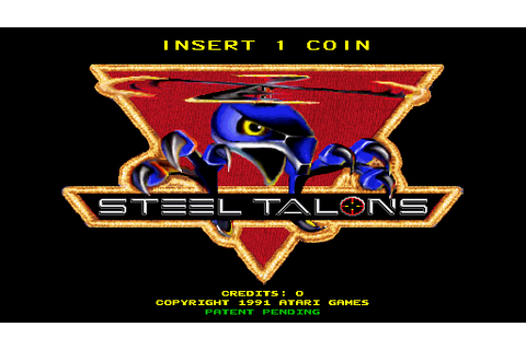 Steel Talons (1991) Arcade game