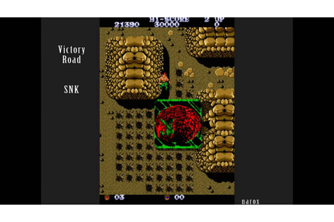 Victory Road / arcade attract mode auto demo / SNK 1986 ...