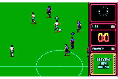 World Trophy Soccer (a.k.a. Italia '90) Download (1989 ...