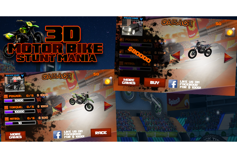 3D Motor Bike Stunt Mania - Android Apps on Google Play