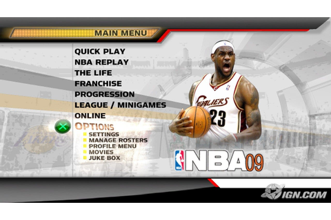 NBA 09: The Inside Screenshots, Pictures, Wallpapers ...