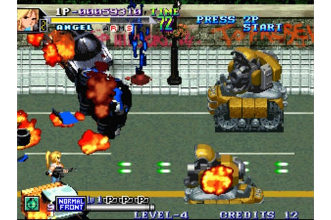 Shock Troopers 2nd Squad (Neo Geo) Screenshots