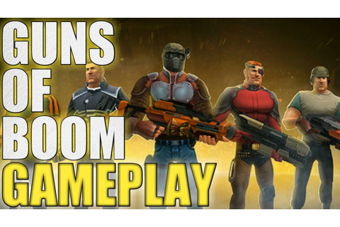 GUNS OF BOOM !! NEW FPS MOBILE GAME (ANDROID/IOS) GAMEPLAY ...