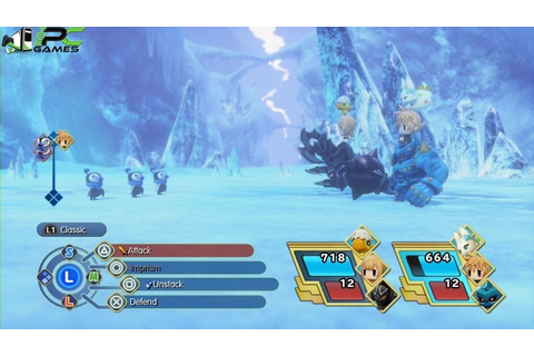 World Of Final Fantasy PC Game Free Download