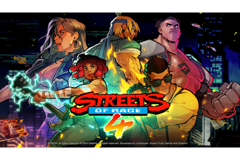 Streets of Rage 4 Hands-On Preview and Interview from PAX ...