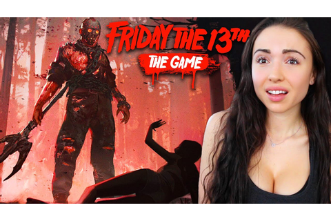 FRIDAY THE 13th GAME - JASON VS COUNSELORS!! - YouTube