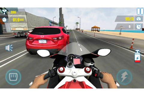 Bike Games - Moto Racing : Real City Highway Bike Rider ...
