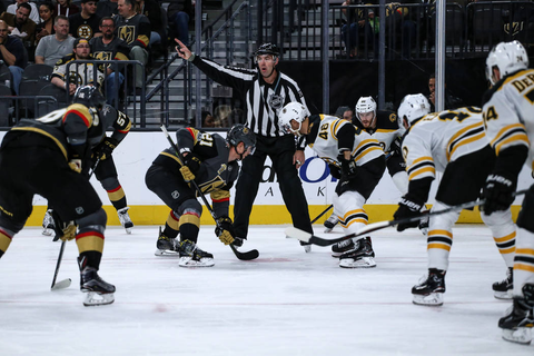 Stricter NHL faceoff rules frustrate Golden Knights center ...