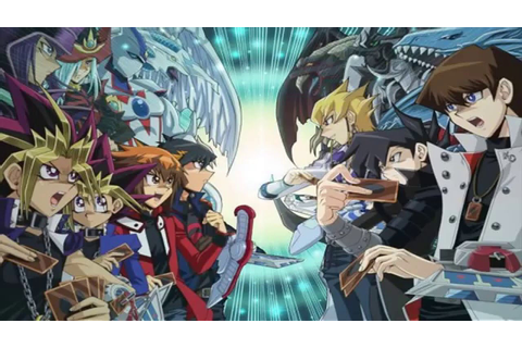 Yugioh Top 5 Yugioh Anime Series December 2015 Edition ...