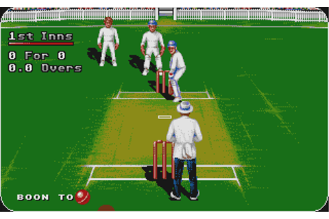 Atari ST Graham Gooch World Class Cricket : scans, dump ...