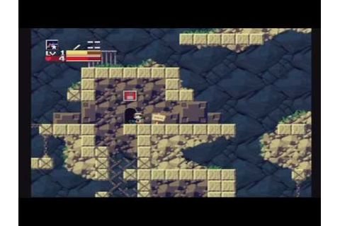Cave Story Wii Gameplay #1 - YouTube