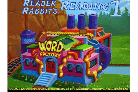 Reader Rabbit's Reading 1 Screenshots for Windows - MobyGames