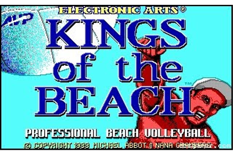 PC Retro Games: Kings of the beach (1988)