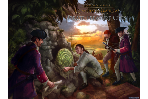 Commander: Conquest of the Americas: Pirate Treasure Chest ...