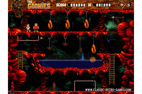 Download The Goonies & Play Free | Classic Retro Games