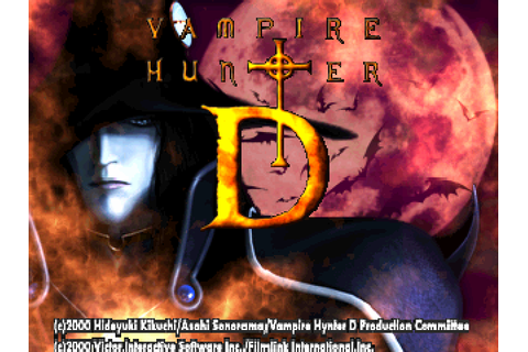 Super Adventures in Gaming: Vampire Hunter D (PSX)
