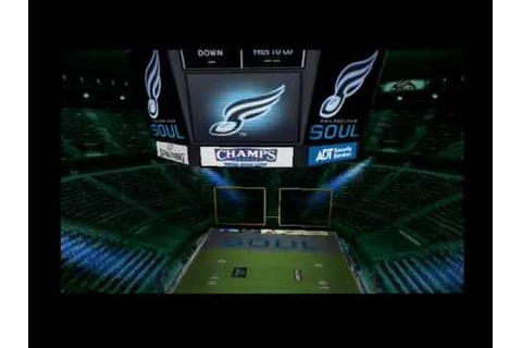 Arena Football Road To Glory Game Part 1 - YouTube