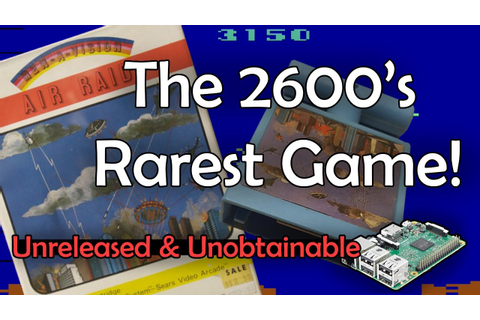 Air Raid [Atari 2600] - Unreleased & Unobtainable - YouTube