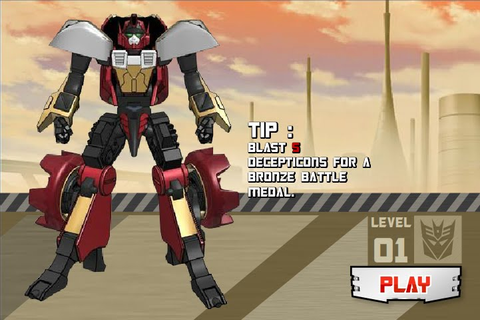 "Free Download Online Flash Game ""Transformers: Roll Out ..."