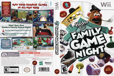 RRME69 - Hasbro: Family Game Night