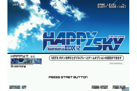 Beatmania IIDX 12 Happy Sky for Konami Bemani PC Type ...