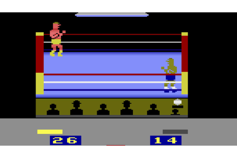 RealSports Boxing - Atari 2600 - YouTube