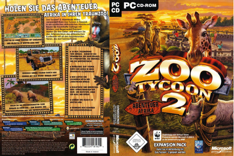 Zoo Tycoon 2 African Adventure [Expansion Pack] - PokoGames