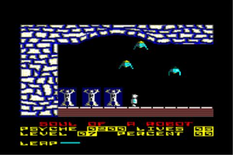 Download Soul of a Robot (Amstrad CPC) - My Abandonware