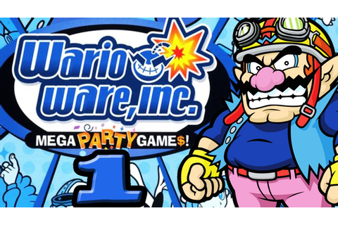 Let's Play Wario Ware Inc.: Mega Party Game$ - Part 1 ...