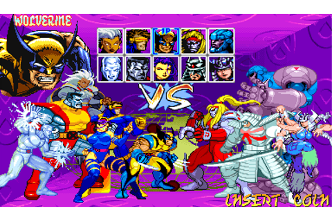 XMen Children Of The Atom - Videogame by Capcom