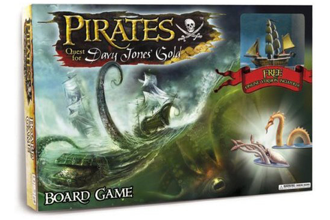 inMint.com - Pirates: Quest for Davy Jones' Gold Board ...